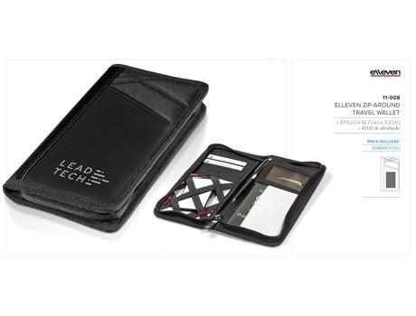 Elleven Zip-Around Travel Wallet Gift Ideas for Him