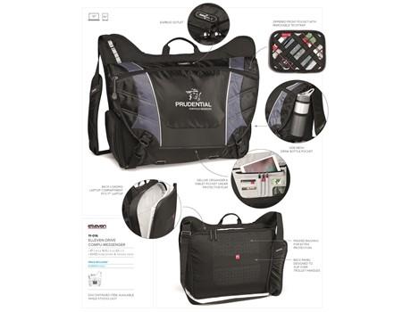Elleven Drive Compu-Messenger Bags and Travel