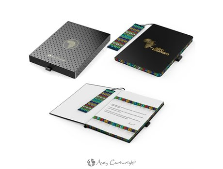 Andy Cartwright Afrique A5 Notebook Giftsets