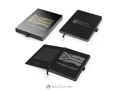 Andy Cartwright 'I Am South African' A5 Notebook Giftsets