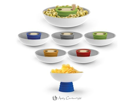 Andy Cartwright Topsy-Turvy Snack Bowl Giftsets