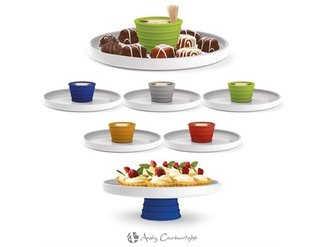 Andy Cartwright Topsy-Turvy Serving Platter Giftsets