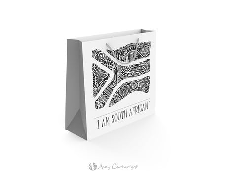 Andy Cartwright 'I Am South African' Gift Bag Bags and Travel