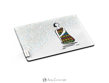 Andy Cartwright Miss Smarty Pants Glass Serving Board Gift Ideas for Her