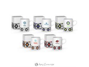 Andy Cartwright Geo Coffee Mug – 380ml Drinkware