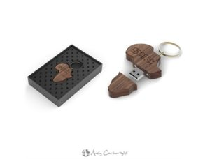 Andy Cartwright Afrique Wood Memory Stick