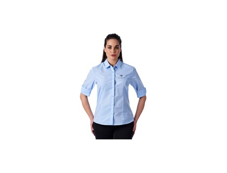 Ladies 3/4 Sleeve Apollo Shirt Lounge Shirts and Blouses