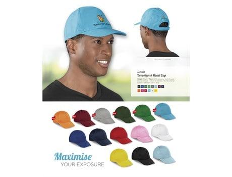Brooklyn 5 Panel Cap Headwear and Accessories
