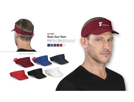 Basic Sun Visor Headwear and Accessories