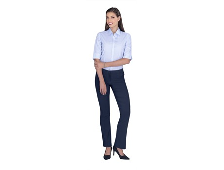Ladies 3/4 Sleeve Earl Shirt Lounge Shirts and Blouses