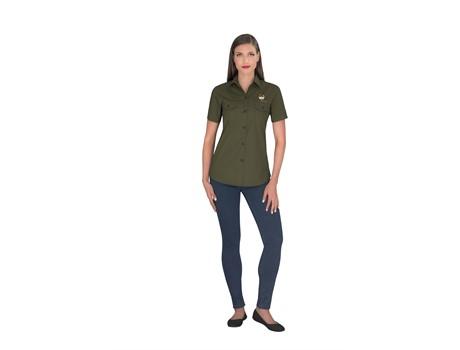 Ladies Short Sleeve Oryx Bush Shirt Bush and Outdoor Gear