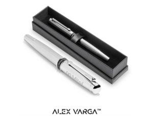 Alex Varga Cygnus Rollerball – Silver Only