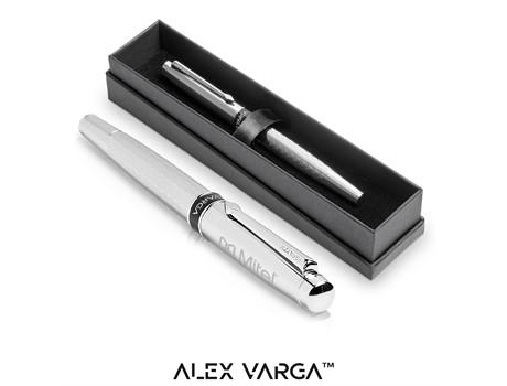 Alex Varga Cygnus Rollerball – Silver Only Gift Ideas for Him