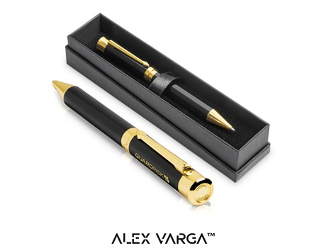 Alex Varga Corona Ball Pen – Black Only Giftsets