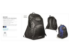 Pinnacle Tech Backpack – Black Only