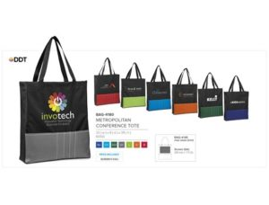 Metropolitan Conference Tote – Blue Only