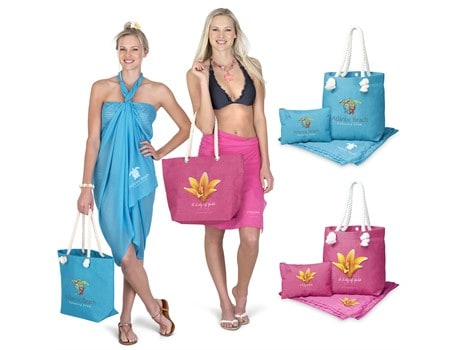 Caribbean Beach Set Bags and Travel