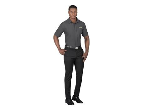 Mens Short Sleeve Kensington Shirt Formal Wear