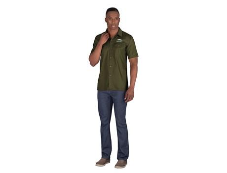 Mens Short Sleeve Wildstone Shirt Bush and Outdoor Gear