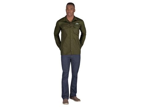 Mens Long Sleeve Wildstone Shirt Bush and Outdoor Gear
