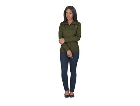 Ladies Long Sleeve Wildstone Shirt Bush and Outdoor Gear