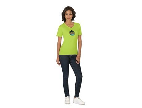 Ladies Super Club 165 V-Neck T-Shirt Name Brands