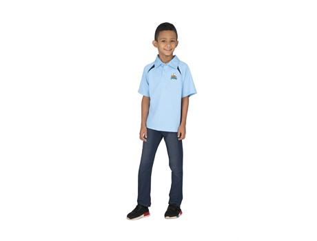 Kids Splice Golf Shirt Branded Kids Apparel