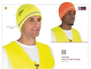 Safety-First Beanie – Orange Only