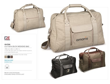 Cutter & Buck Weekend Bag Bags and Travel