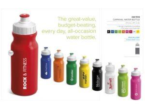 Carnival Drink Bottle – 300ml Back to School