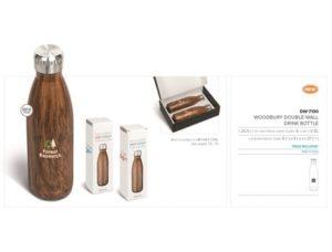 Woodbury Double-Wall Water Bottle  – 500ml Drinkware