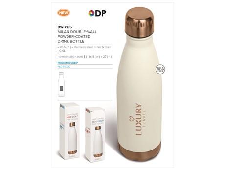 Milan Double-Wall Water Bottle – 500ml Drinkware 3
