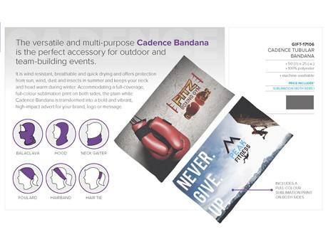 Cadence Tubular Bandana Back to School and Work Ideas