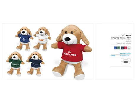 Cooper Plush Toy – Blue Only Kids Ideas