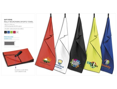 Rally Microfibre Sports Towel Ideas for Golf Days
