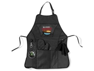 Cookout Bbq Apron – Black Only