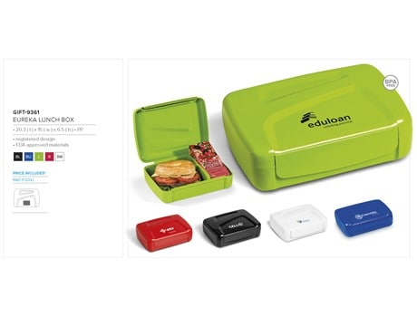 Eureka Lunch Box Back to School and Work Ideas