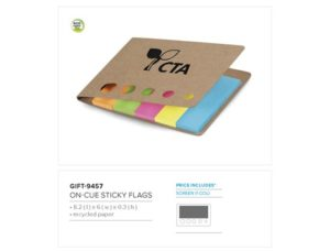 On-Cue Sticky Flags Environmentally Friendly Ideas