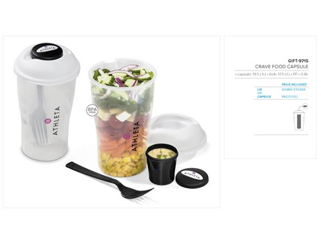 Crave Food Capsule – 800ml Kitchen and Home Living