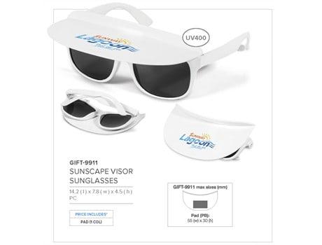 Sunscape Visor Sunglasses N/A2