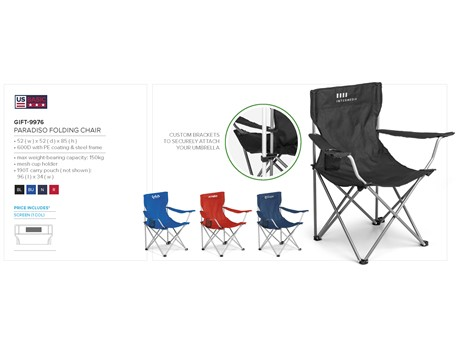 Paradiso Folding Chair Beach and Outdoor Items