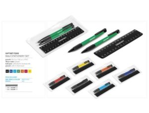 Maui Stationery Set – Black Stationery