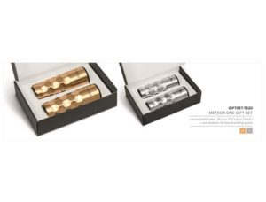 Meteor One Gift Set- Gold Only Drinkware