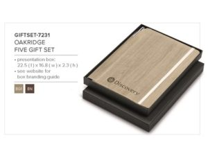 Oakridge Five Gift Set- Beige Only