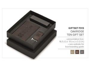 Oakridge Ten Gift Set – Beige Only