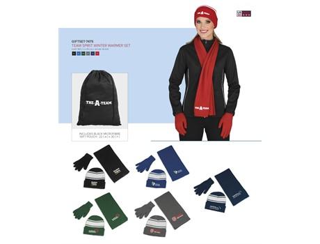Team Spirit Winter Warmer Set Headwear and Accessories