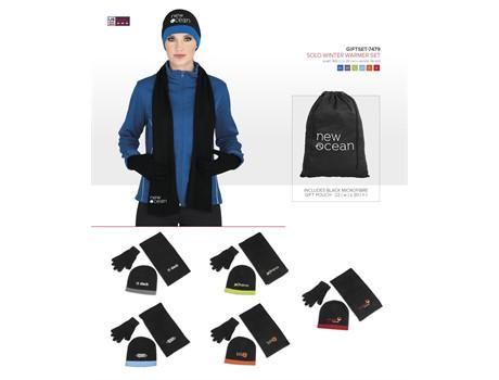 Solo Winter Warmer Set Headwear and Accessories