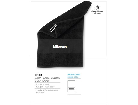 Gary Player Deluxe Golf Towel Giftsets