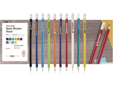 Basix Wooden Pencil Back to School