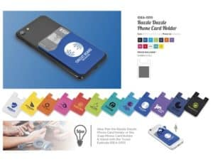 Razzle Dazzle Phone Card Holder Our Top Promotional Gifts
